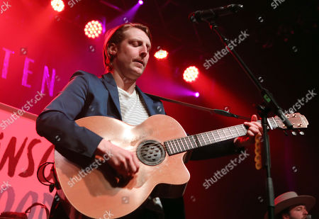 Stock Photo of Eric Hutchinson performs as the opener for Rachel Platten at Center Stage Theater, in Atlanta