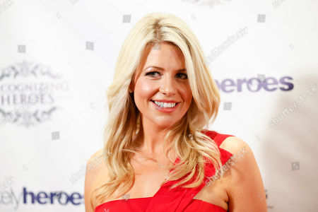 Stock Picture of Founder of Unlikely Heroes Erica Greve arrives at the Recognizing Heroes Awards Dinner and Gala at the W Hotel Hollywood on in Los Angeles
