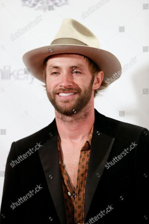 Musician Paul McDonald arrives at the Recognizing Heroes Awards Dinner and Gala at the W Hotel Hollywood on in Los Angeles
