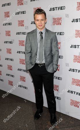 Editorial picture of Red Carpet Premiere Screening of FX's Justified, Los Angeles, USA - 6 Jan 2014