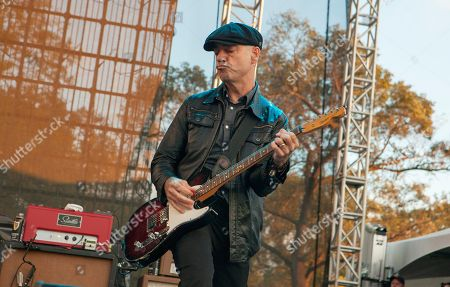 Dennis Casey of Flogging Molly seen at Riot Fest & Carnival in Douglas Park on in Chicago