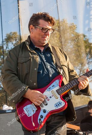 Will Sergeant of Echo & the Bunnymen seen at Riot Fest & Carnival in Douglas Park on in Chicago