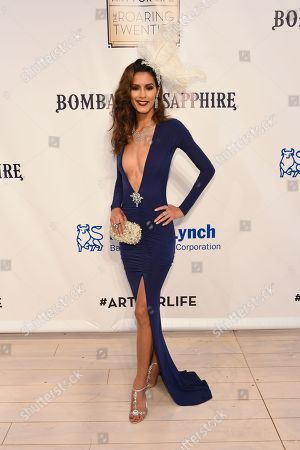 Jaslene Gonzalez attends the RUSH Philanthropic Arts Foundation's Art for Life Benefit at Fairview Farms in Water Mill, in New York