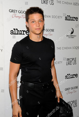 """Actor Spencer Lofranco attends a special screening of """"People Like Us"""" hosted by The Cinema Society and Allure at Chelsea Cinemas on in New York"""
