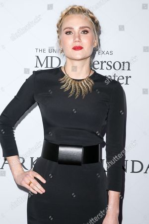 Stock Photo of Laura Kirkpatrick arrives at Sean Parker and the Parker Foundation's Gala Celebrating a Milestone in Medical Research, in Los Angeles