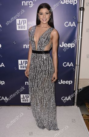 """Rozzi Crane arrives at the 4th annual Sean Penn and Friends """"Help Haiti Home"""" Gala at the Montage Hotel, in Beverly Hills, Calif"""