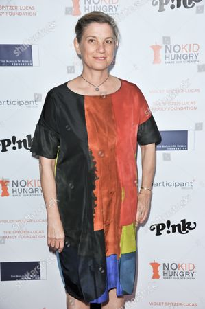 Mary Sue Milliken arrives at Share Our Strength's No Kid Hungry Dinner at Green Acres On in Beverly Hills, Calif
