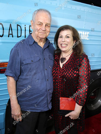 "Stock Picture of Paul Dooley and Winnie Holzman are seen at Showtime's ""Roadies"" Premiere at The Theatre at ACE Hotel, in Los Angeles"