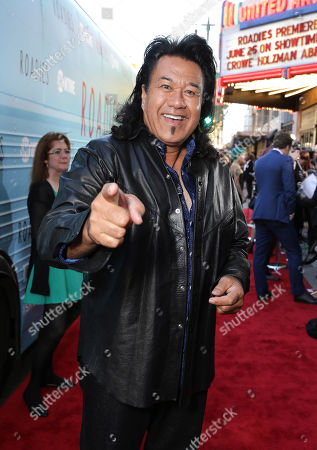 "Branscombe Richmond is seen at Showtime's ""Roadies"" Premiere at ACE Hotel, in Los Angeles"