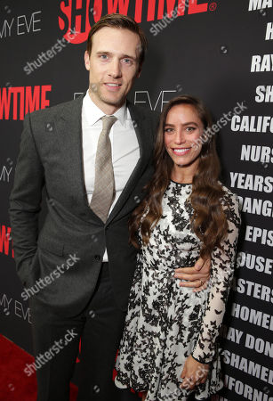 Teddy Sears and Milissa Skoro seen at Showtime's 2014 Emmy Eve Soiree held at the Sunset Tower Hotel, in Los Angeles