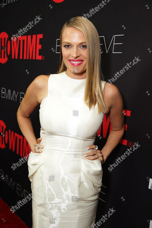 Vinessa Shaw seen at Showtime's 2014 Emmy Eve Soiree held at the Sunset Tower Hotel, in Los Angeles