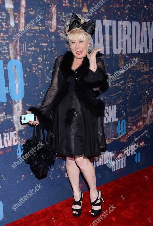 Stock Picture of Victoria Jackson attends the SNL 40th Anniversary Special at Rockefeller Plaza, in New York