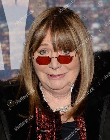 Penny Marshall attends the SNL 40th Anniversary Special at Rockefeller Plaza, in New York
