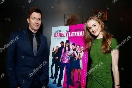 Director Kyle Newman and Emma Holzer seen at a Special Screening of 'Barely Lethal', in Los Angeles, CA
