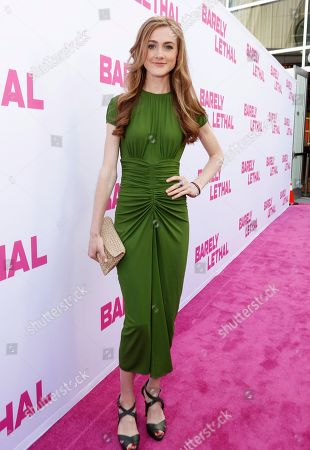 Emma Holzer seen at a Special Screening of 'Barely Lethal', in Los Angeles, CA