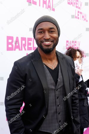 Adrian Holmes seen at a Special Screening of 'Barely Lethal', in Los Angeles, CA