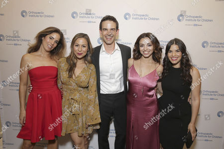 Exclusive - Ana Ortiz, Anjelah Johnson, Christopher Gorham, Anel Lopez and America Ferrera seen at Stand for Kids Annual Gala benefiting Orthopaedic Institute for Children at Twentieth Century Fox Studios Lot, in Los Angeles, CA