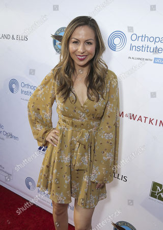 Anjelah Johnson seen at Stand for Kids Annual Gala benefiting Orthopaedic Institute for Children at Twentieth Century Fox Studios Lot, in Los Angeles, CA