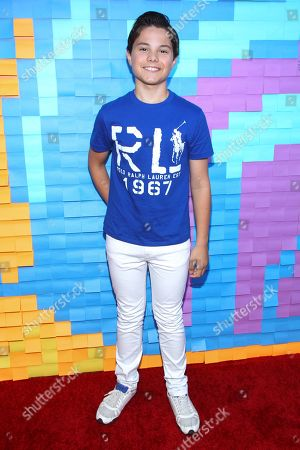 Actor Zach Callison attends the Staples for Students Give-Back at the Saddle Ranch Chop House on in Universal City, Calif