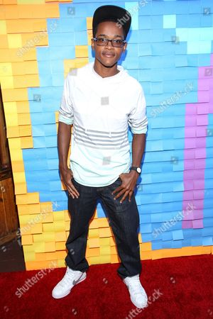 Stock Image of Actor Octavius Johnson attends the Staples for Students Give-Back at the Saddle Ranch Chop House on in Universal City, Calif