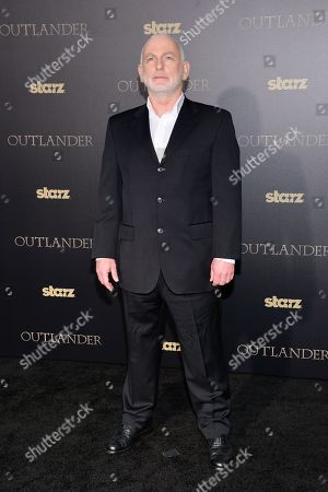 """Gary Lewis attends the STARZ mid-season premiere of """"Outlander"""" at the Ziegfeld Theatre, in New York"""