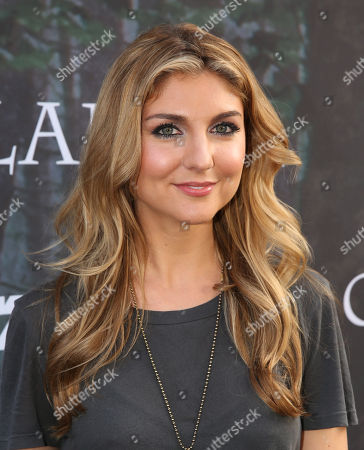 """Anna Martemucci arrives at the premiere for the STARZ original series """"Outlander"""" during San Diego Comic-Con on in San Diego. """"Outlander"""" premieres on STARZ August 9, 2014"""