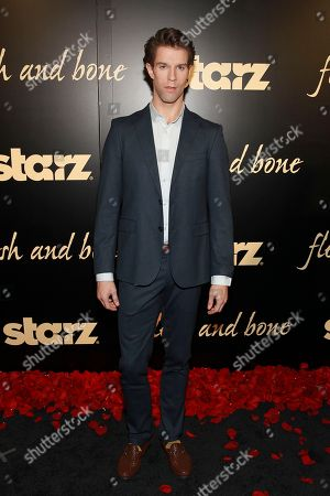 ABT principle dancer James Whiteside seen at the Starz's original limited series Flesh and Bone at the NYU Skirball Center for the Performing Arts on in New York