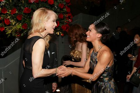 Moira Walley-Beckett and Misty Copeland seen at the NYC premiere of Starz's original limited series Flesh and Bone at the NYU Skirball Center for the Performing Arts on in New York