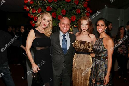 Moira Walley-Beckett, Chris Albrecht, Sarah Hay, and Misty Copeland seen at the NYC premiere of Starz's original limited series Flesh and Bone at the NYU Skirball Center for the Performing Arts on in New York
