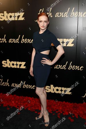 ABT principle dancer Gillian Murphy seen at the Starz's original limited series Flesh and Bone at the NYU Skirball Center for the Performing Arts on in New York