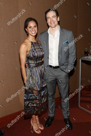 Stock Image of Misty Copeland and Sascha Radetsky seen at the NYC premiere of Starz's original limited series Flesh and Bone at the NYU Skirball Center for the Performing Arts on in New York