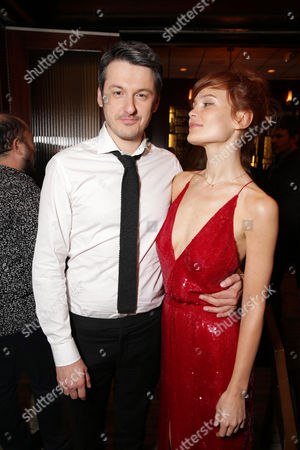 Stock Picture of Director/Writer/Producer/Actor Ilya Naishuller and Composer/Actor Darya Charusha seen at STX Entertainment â?˜Hardcore Henry' reception at 2016 SXSW Film Festival, in Austin, TX