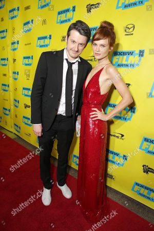 Stock Photo of Director/Writer/Producer/Actor Ilya Naishuller and Composer/Actor Darya Charusha seen at STX Entertainment 'Hardcore Henry' screening at 2016 SXSW Film Festival, in Austin, TX