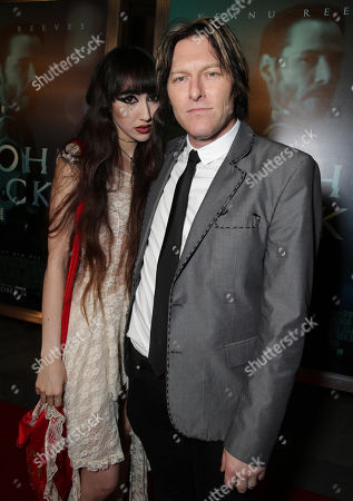 "Ciscandra Nostalghia and music by Tyler Bates seen at Summit Entertainment's ""John Wick"" Los Angeles Special Screening held at The Arclight Hollywood, in Hollywood"