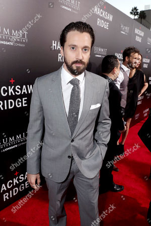 """Stock Photo of Richard Pyros seen at Summit Entertainment, a Lionsgate Company, Los Angeles Special Screening of """"Hacksaw Ridge"""" at The Academy's Samuel Goldwyn Theater, in Beverly Hills, Calif"""