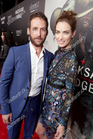 "Ori Pfeffer and Yael Goldman seen at Summit Entertainment, a Lionsgate Company, Los Angeles Special Screening of ""Hacksaw Ridge"" at The Academy's Samuel Goldwyn Theater, in Beverly Hills, Calif"