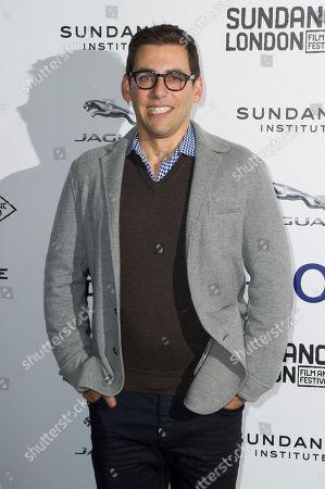 Stuart Zicherman arrives for the A.C.O.D premiere at the Sundance Film Festival in London