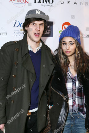 Stock Photo of Pat Kiely, left, and Meaghan Rath attend Talent Resources suites,, in Park City, Utah