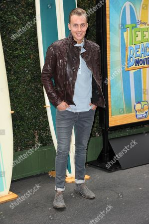"""Stock Picture of William Loftis attends the """"Teen Beach Movie"""" screening e at event at The Walt Disney studios on in Burbank, Calif"""