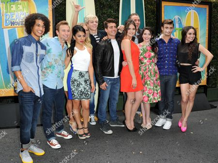 Editorial photo of Teen Beach Movie Screening Event, Burbank, USA - 10 Jul 2013