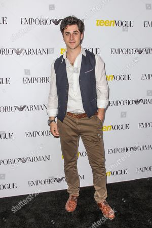 David Henrie attends the Teen Vogue's 13th Annual Young Hollywood Issue Launch Party on in Los Angeles