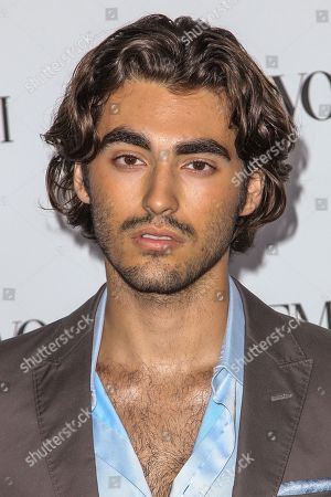 Blake Michael attends the Teen Vogue's 13th Annual Young Hollywood Issue Launch Party on in Los Angeles