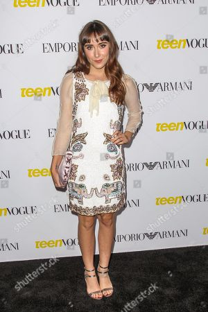 Christina Scherer attends the Teen Vogue's 13th Annual Young Hollywood Issue Launch Party on in Los Angeles