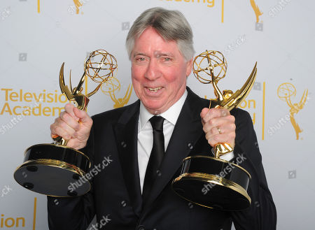 Alan Silvestri poses for a portrait at the Television Academy's Creative Arts Emmy Awards at the Nokia Theater L.A. LIVE, in Los Angeles