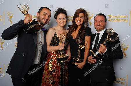 Editorial image of Television Academy's 2014 Creative Arts Emmy Awards - Portraits, Los Angeles, USA - 16 Aug 2014