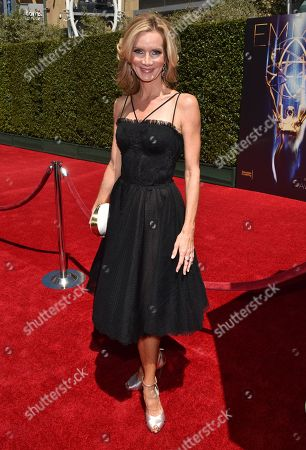 Beth Littleford arrives at the Television Academy's Creative Arts Emmy Awards at the Nokia Theater L.A. LIVE, in Los Angeles