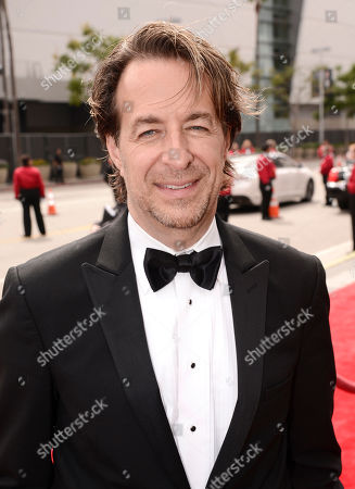 Jeff Danna arrives at the Television Academy's Creative Arts Emmy Awards at Microsoft Theater, in Los Angeles