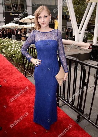 Stock Photo of Dayeanne Hutton arrives at the Television Academy's Creative Arts Emmy Awards at Microsoft Theater, in Los Angeles