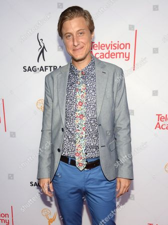 Scott Turner Schofield seen at the Television Academy's 67th Emmy Awards Dynamic and Diverse Nominee Reception at the Montage Beverly Hills, in Beverly Hills, Calif