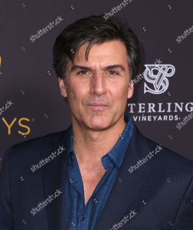 Vincent Irizarry arrives at the Television Academy's Performers Emmy Celebration at the Montage Beverly Hills on
